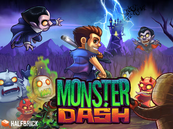 Monster Dash Screenshot