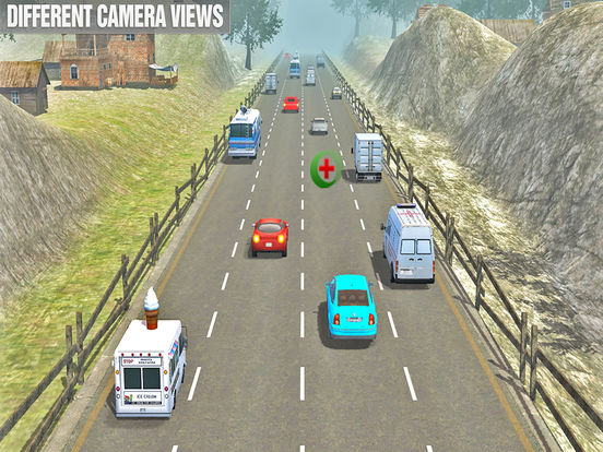 New Crazy Traffic Car Racer Pro : New Year Rally Screenshots
