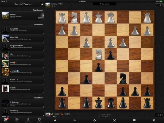 schach spielen gegen freunde