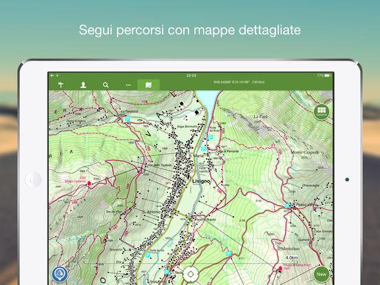ViewRanger Mappe e Sentieri Screenshot