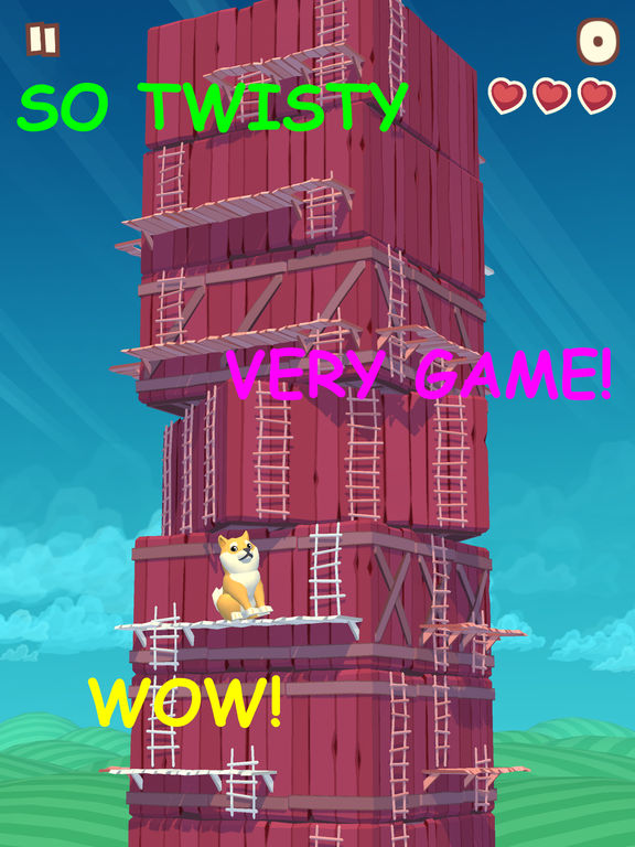 Screenshot 5 Twisty Sky - Endless Tower Climber