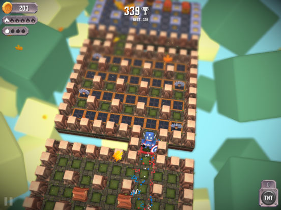 Screenshot 2 Tiny Bombers