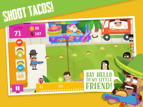 Screenshot 1 Taco Joe - Endless Taco Tosser