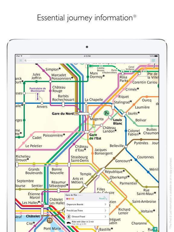 Paris Metro Map Departures and route planner on the App Store – Metro Map in Paris