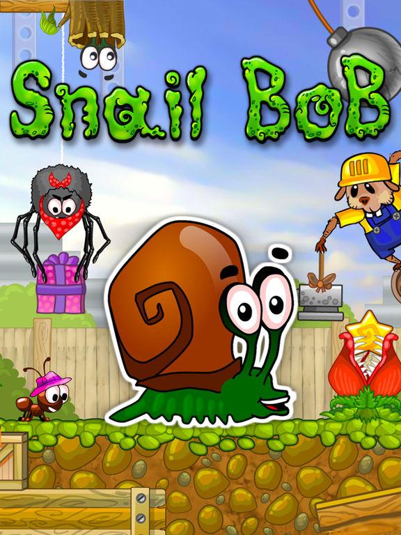 Snail bob bob l 39 escargot dans l app store - Bobe l escargot ...