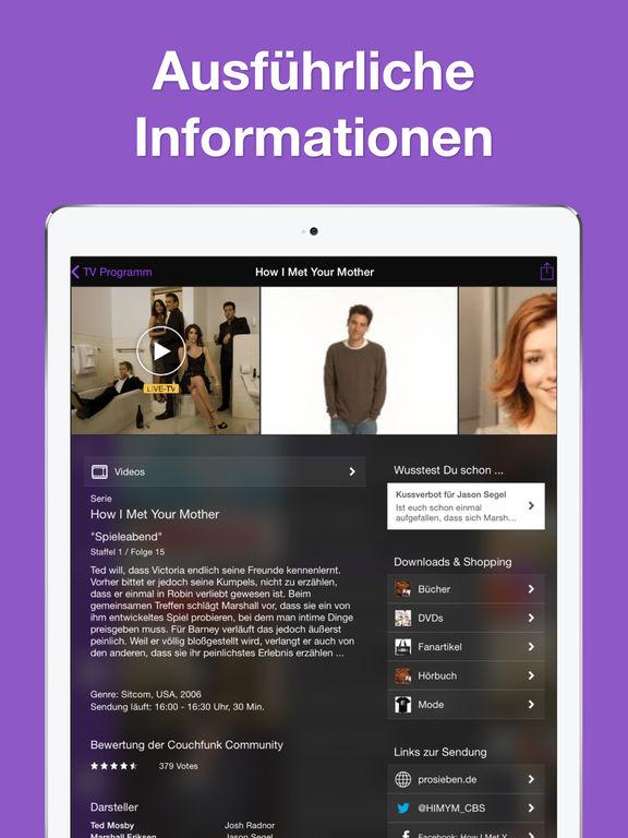 TV Programm App Fernsehprogramm Zeitung - Live TV Screenshot
