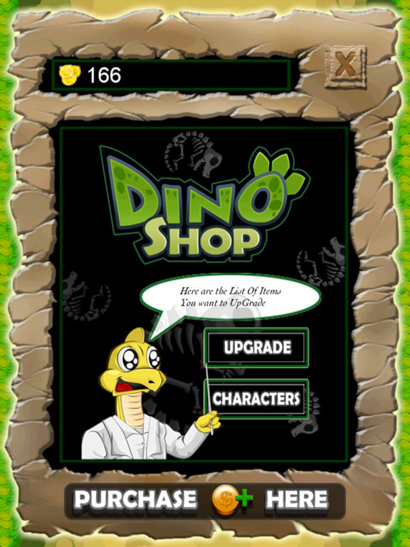 Dino Slide Screenshots