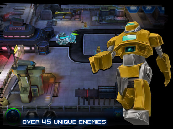 Screenshot 3 INTRUDERS: Robot Defense