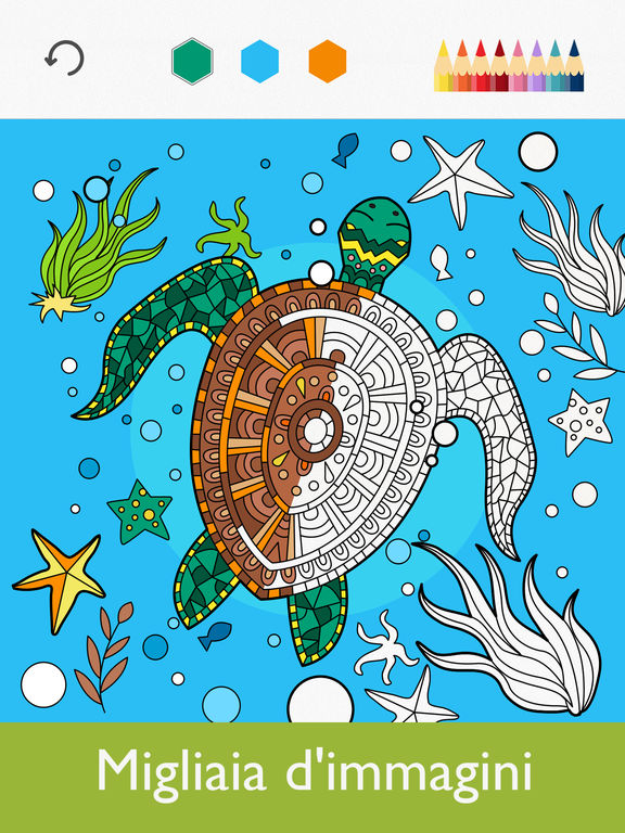 Colorfy: Giochi da Colorare Per Adulti - Gratis Screenshot