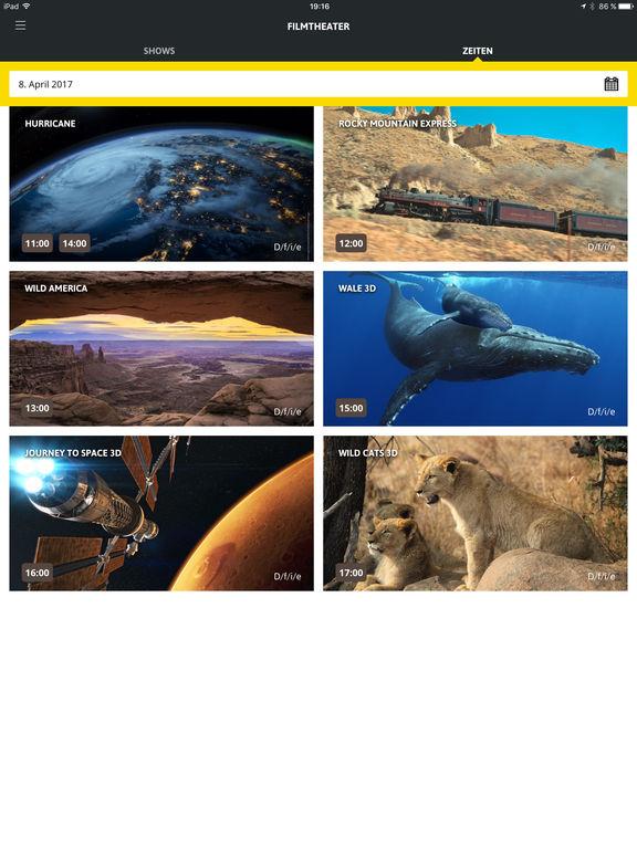 Verkehrshaus App Screenshot
