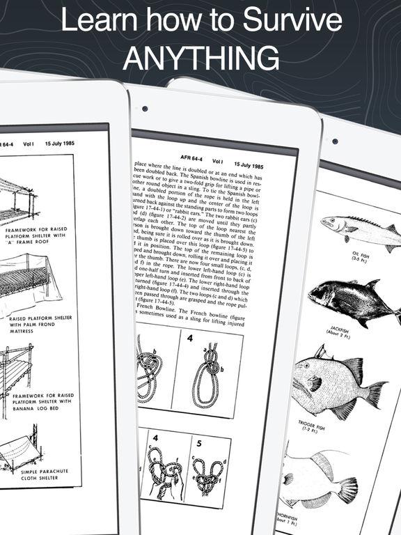 Survivalpedia -Military Outdoor Survival Manuals Screenshot