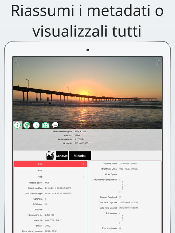Investigatore foto: visualizza, modifica, rimuovi Screenshot