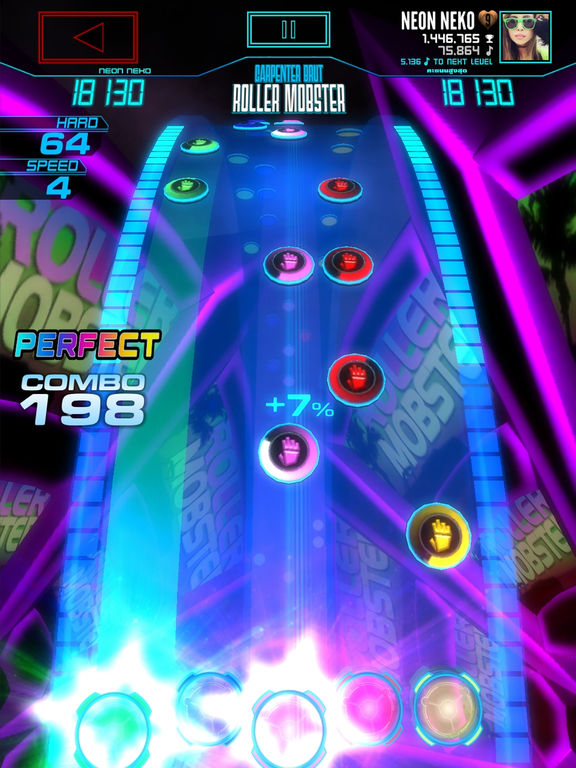 Neon FM™ — Music Gaming | Arcade Rhythm Game Screenshot