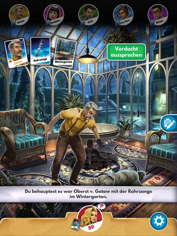 Screenshot 1 Cluedo: Das klassische Detektivspiel