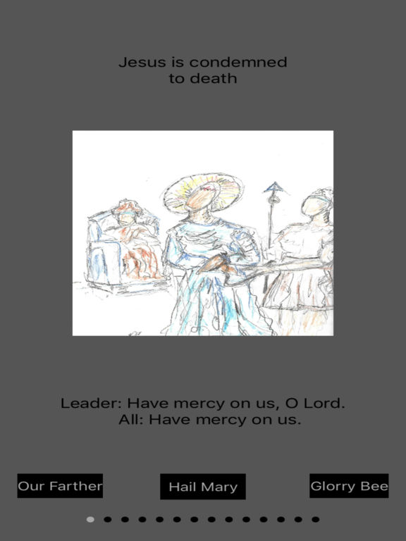 Station of the cross guide