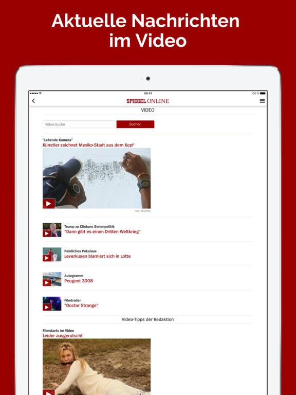 Spiegel online nachrichten im app store for Neueste nachrichten spiegel