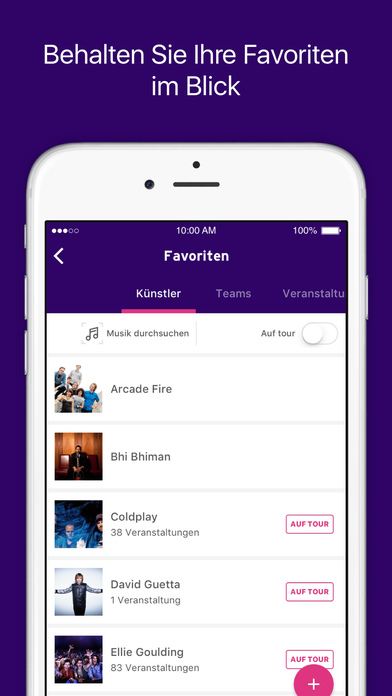 StubHub - Tickets für Konzerte, Theater, Festivals Screenshot