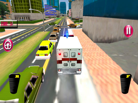 Fast Ambulance Rescue Duty 3D Pro Screenshots