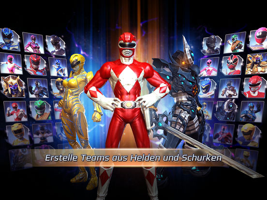 Screenshot 2 Power Rangers: Legacy Wars