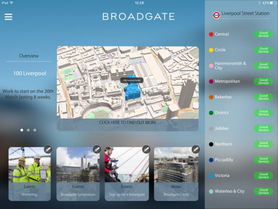 Broadgate construction on the app store for Application ipad construction maison