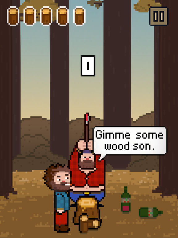 Chopping Wood With My Dad Simulator iOS