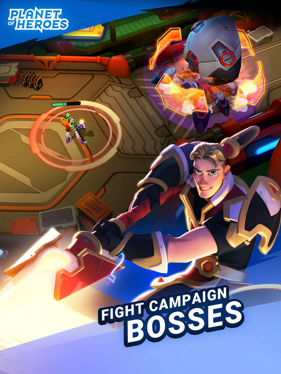 Planet of Heroes Screenshot