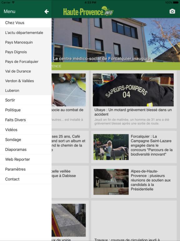 Haute provence info dans l app store for Haute provence info