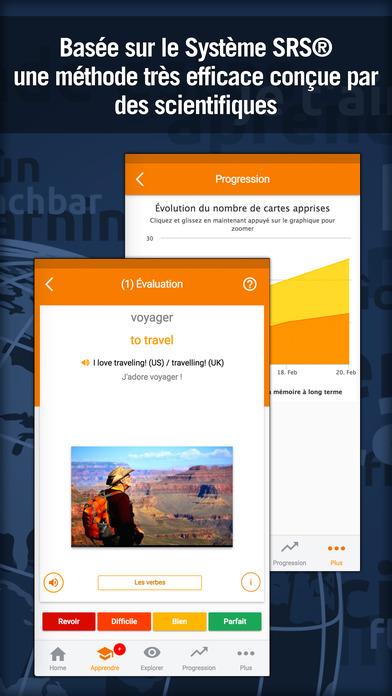 download Apprendre l'anglais rapidement - MosaLingua apps 2