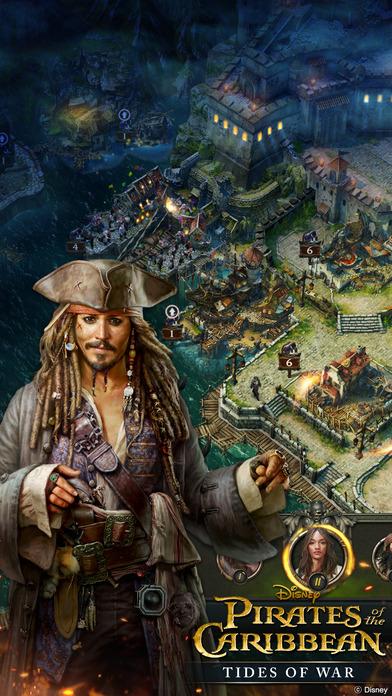 Pirates Of The Caribbean : Tides of War Screenshot