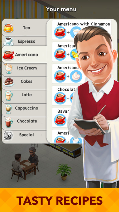 download My Cafe: Recipes & Stories - World Restaurant Game appstore review
