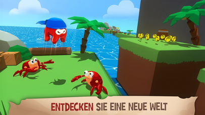 Screenshot 2 Kraken Land : 3D Platformer Adventures