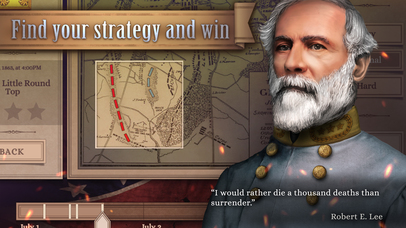 Ultimate General™: Gettysburg iOS Screenshots