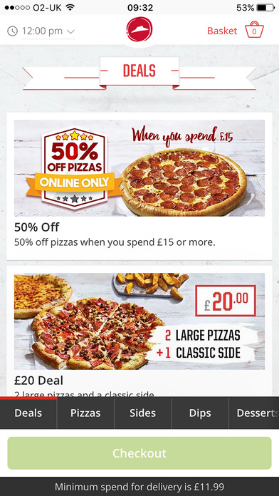 Coupon/Offer Details: Verified on 7 Dec Pizza Hut is offering flat 40% Off on any medium pizza available at their menu; Get flat 40% Off on 2 medium pan pizzas, valid in all days of a week between AM and PM in Chennai.