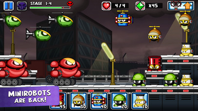 Tiny Defense 2 iOS Screenshots