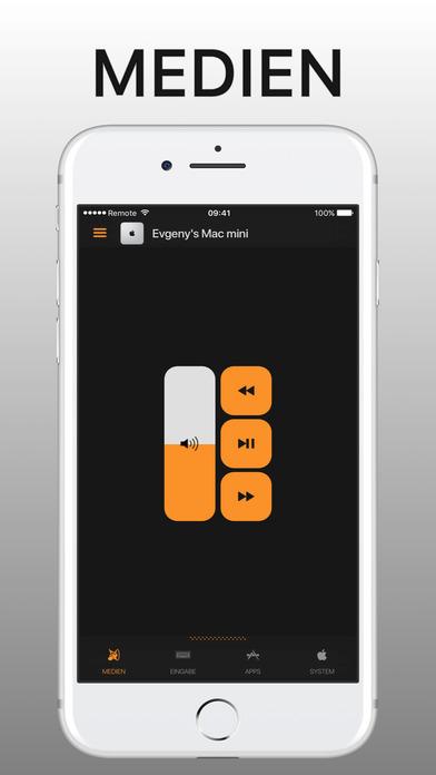 Remote Control Pro for Mac Screenshot