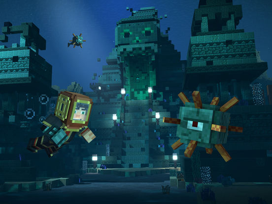 Screenshot 2 Minecraft: Story Mode - S2