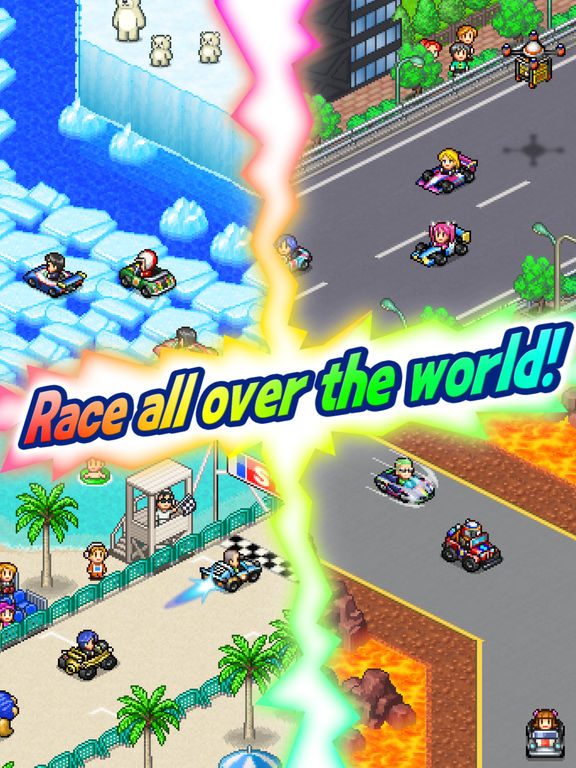 Screenshot 1 Grand Prix Story2