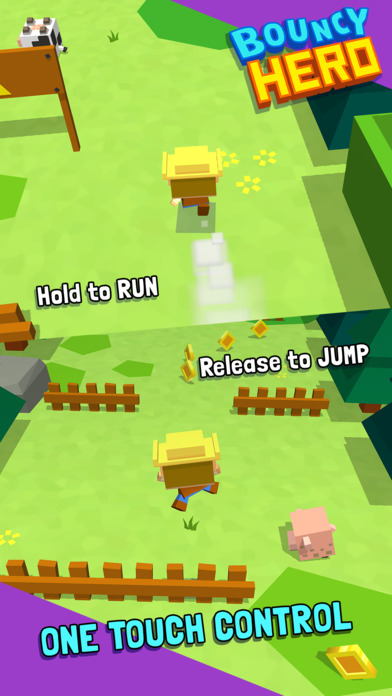 Screenshot 5 Bouncy Hero