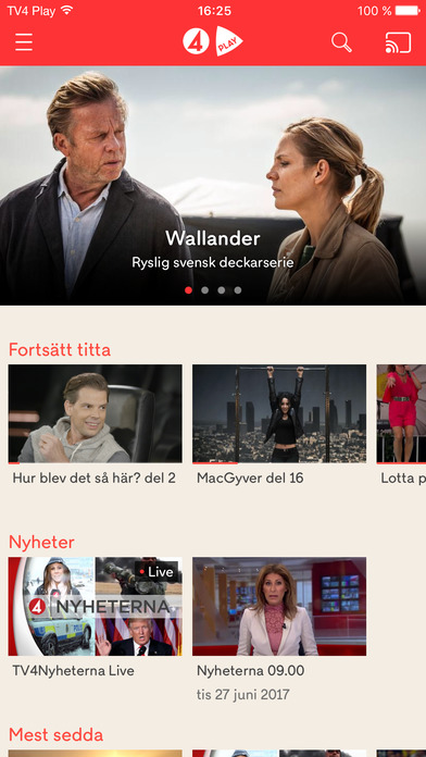 tv4 play chromecast