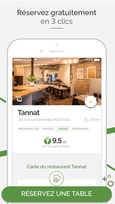 LaFourchette Restaurants -Réservation & Promotions Capture d'écran