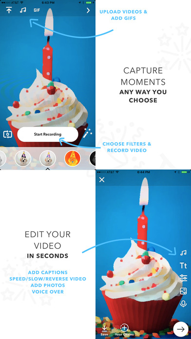 Chain: Collaborate On MyVideo Story/Social Video Screenshot