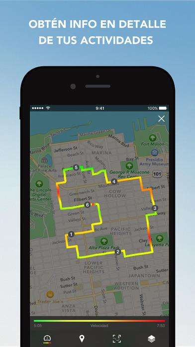 Runtastic: Entrenador personal de correr y caminar Screenshot