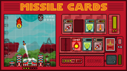Missile Cards iOS Screenshots