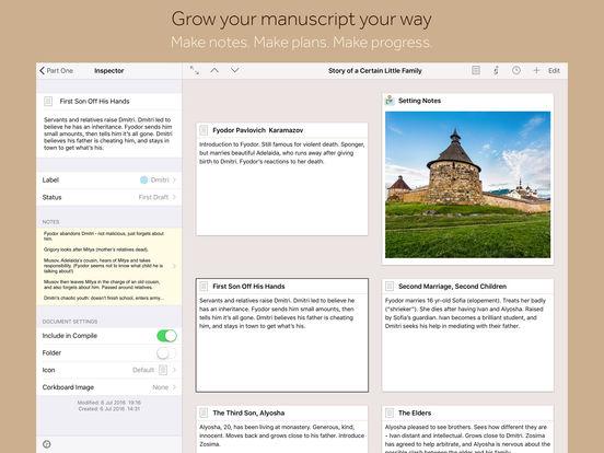 Scrivener Screenshot