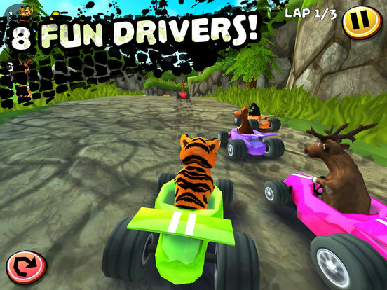 Screenshot 2 Safari Kart