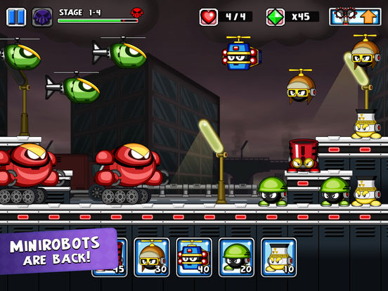 Screenshot 1 Tiny Defense 2