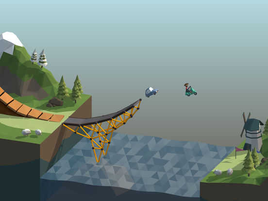 Screenshot 1 Poly Bridge