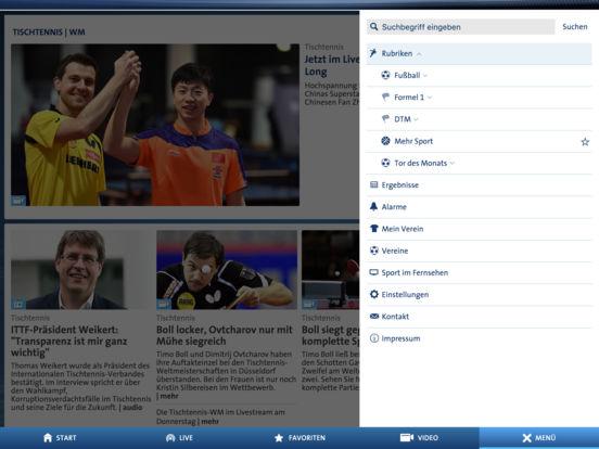 SPORTSCHAU Screenshot