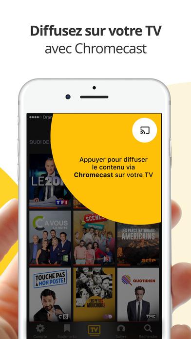 Molotov : TV en direct, replay TV, et plus iPhone
