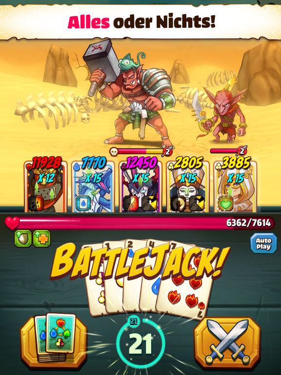 Screenshot 1 Battlejack